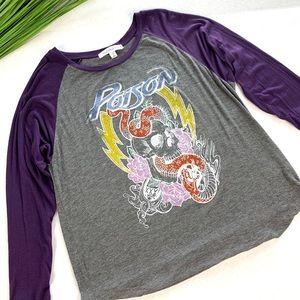 Daydreamer Poison Two sided Raglan T-shirt Medium